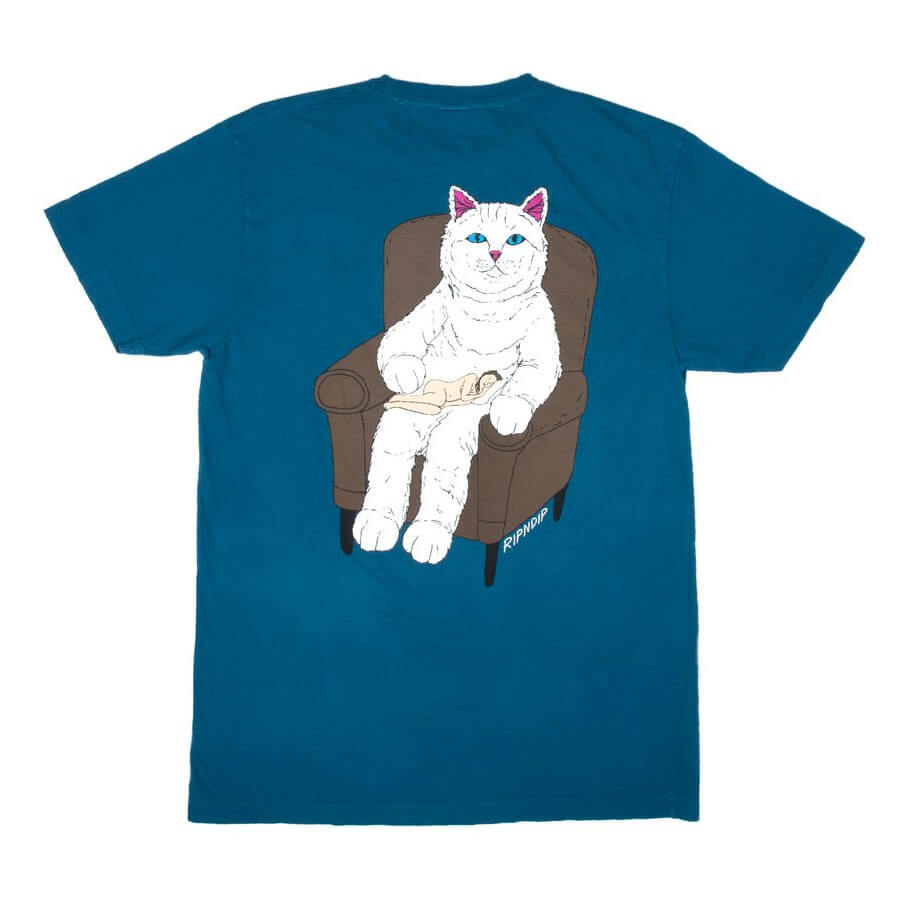 Футболка RIPNDIP Nap Time (Teal)
