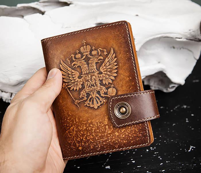 BY11-01-04 Обложка для документов с Гербом России фото 05