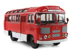 PAZ-672M red Soviet Bus 1:43