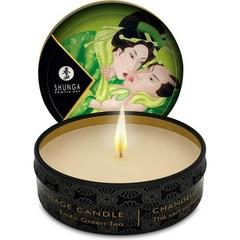 Массажная свеча Shunga с ароматом зеленого чая (30 мл)