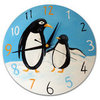 """1574 Часы """"Круг"""", деревянная заготовка"""