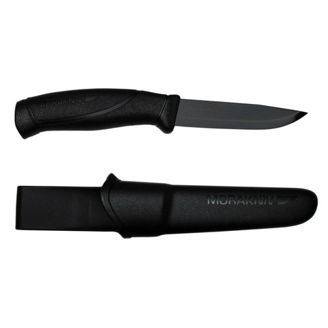 Нож Morakniv Companion Черный клинок