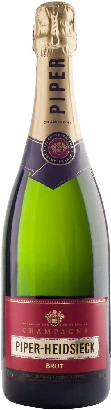 Шампанское Шампань Пайпер-Хайдсик Брют белое брют 0,75л (6)