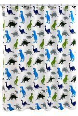 Шторка для ванной детская 183x183 Kassatex Dino Park