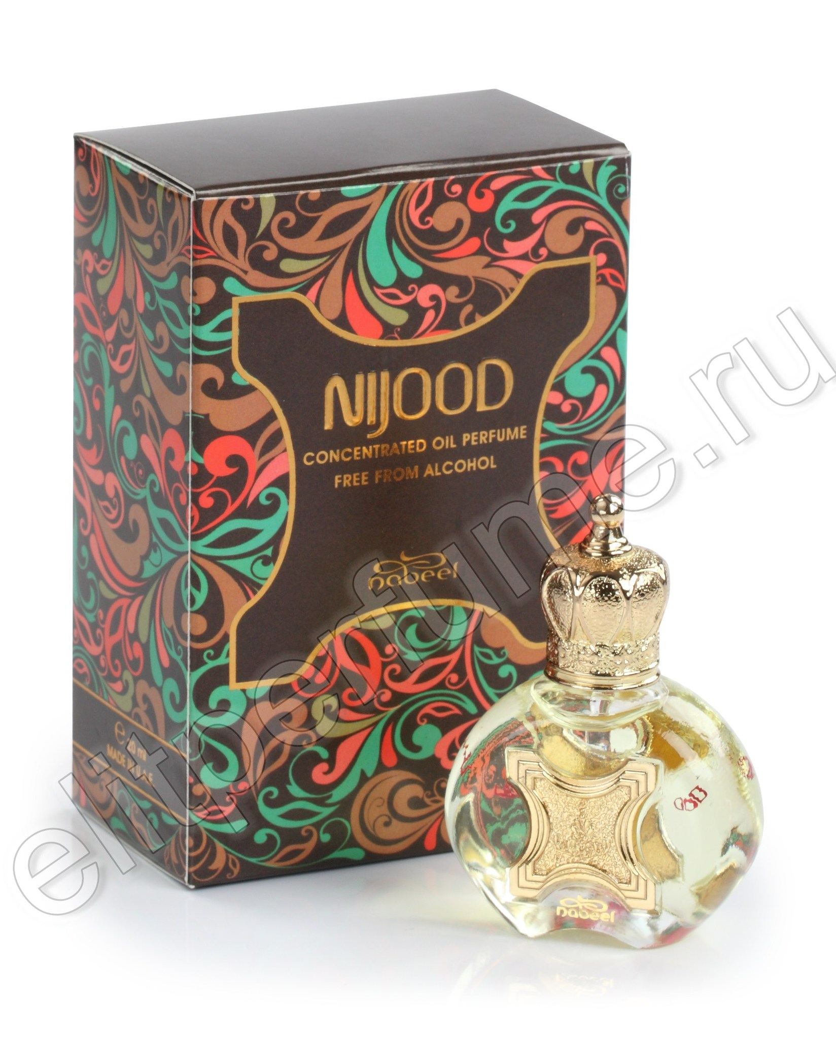 Арабские духи NIjood Ниджуд 20 мл арабские масляные духи от Набиль Nabeel Perfumes
