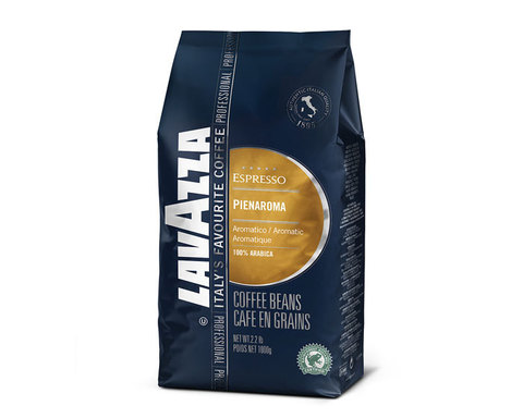 Кофе в зернах LavAzza Pienaroma, 1 кг (Лавацца)