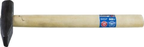 Молоток слесарный 600 г с деревянной рукояткой, СИБИН 20045-06