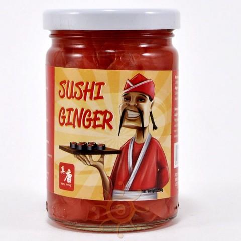 Имбирь маринованный для суши Real Tang, 256г