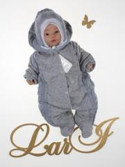 Зимний набор на выписку новорожденных из роддома Дуэт (серый)