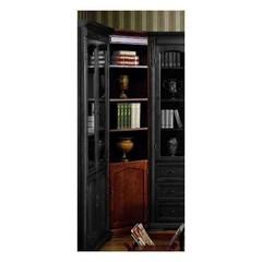 Шкаф книжный угловой Корнер (Corner MK-1736-CR) Cherry