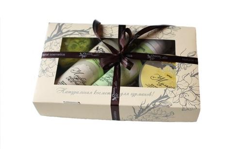 Набор подарочный №10 для лица Лифтинг-Эффект (сыворотка Лифтинг-эффект, пенка для умывания Лифтинг-эффект, маска Мульти Фреш, мыло фигурное) ТМ Chocolatte