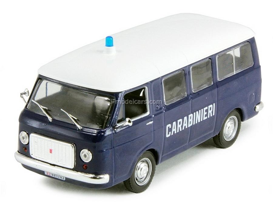 Fiat 238 Italian Police 1:43 DeAgostini World's Police Car #2