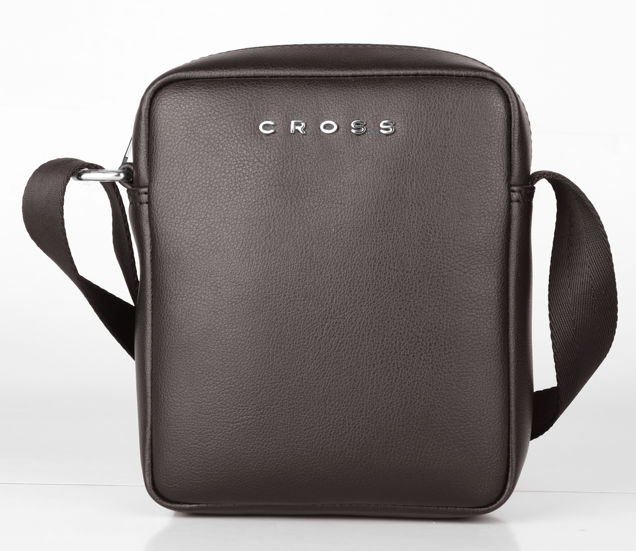 Кожаная сумка-планшет через плечо Cross Volt, brown