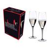 Набор бокалов для шампанского 2 шт 330 мл Riedel Heart to Heart Celebration Champagne Glass
