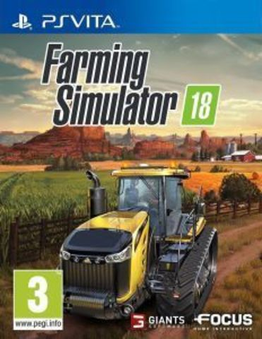 Sony PS Vita Farming Simulator 2018 (английская версия)