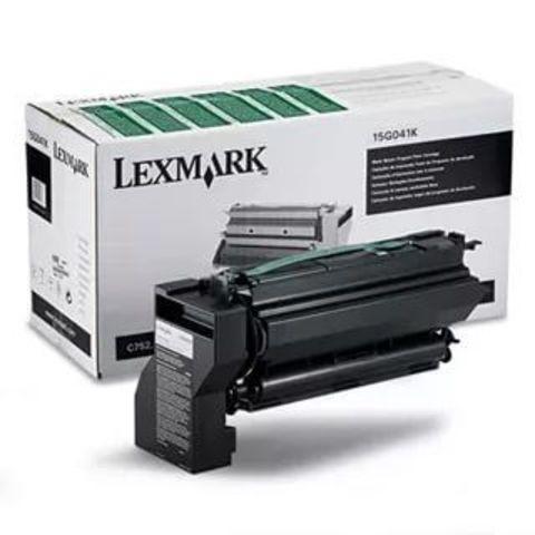 Картридж для принтеров Lexmark C752, C760, C762 черный (black). Ресурс 6000 стр (15G041K)
