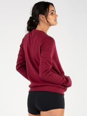 Женская кофта Ryderwear Raise Crew Neck - Burgundy
