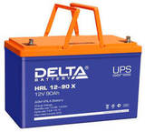 Аккумулятор Delta HRL 12-90 Х ( 12V 90  Ah / 12В 90  Ач ) - фотография