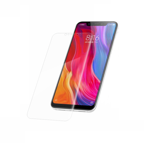 Защитное стекло Same с отступами от края экрана для Xiaomi Mi 8 0.3mm (Глянцевое)
