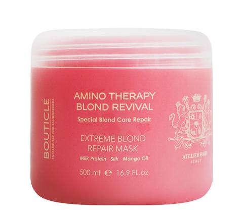 Восстанавливающая маска для экстремально поврежденных волос - Bouticle Extreme Blond Repair Mask 500 мл