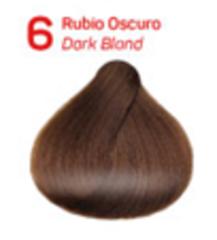 6 темный блондин. Краситель для волос с эффектом лифтинга KV-1