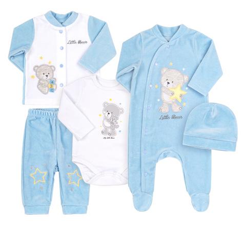 КП231 Комплект для мальчика в подарочной упаковке (5 предметов)