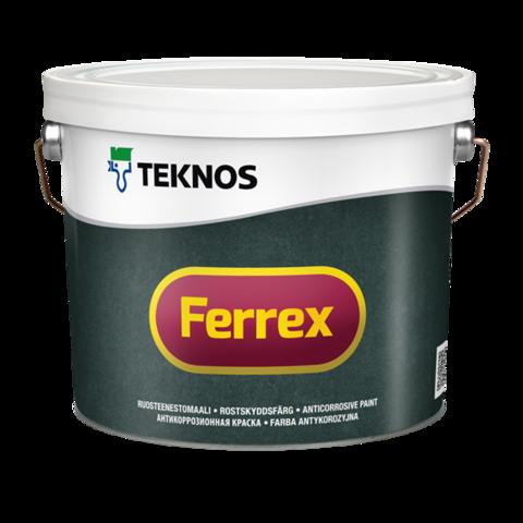 Teknos Ferrex/Текнос Феррекс Антикоррозионная краска