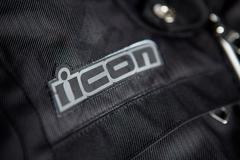 Мотокуртка - ICON HELLA 2 (женская, текстиль, черная)