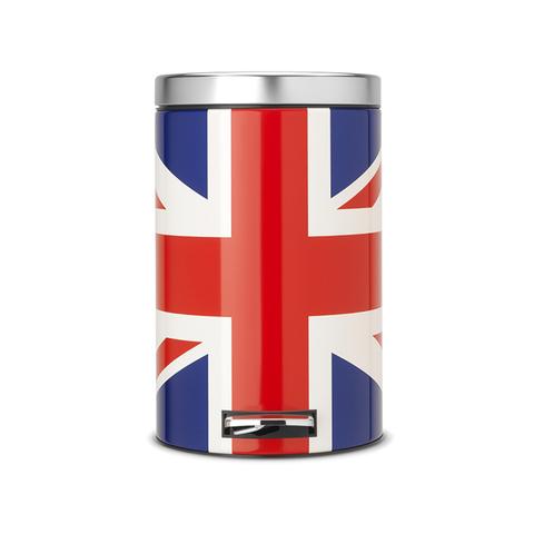 Мусорный бак Brabantia  (12л), Классический, Union Jack, арт. 479748 - фото 1