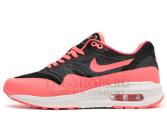 Кроссовки Женские Nike Air Max 87 Lunarlon Black Pink White