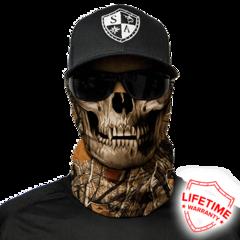 Бандана-труба с черепом SA Forest Camo Skull