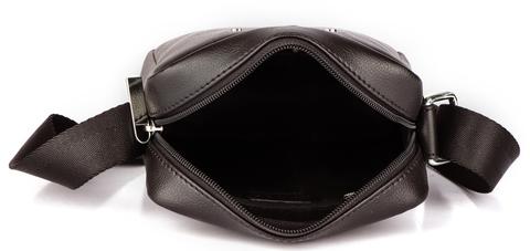 Кожаная сумка-планшет через плечо Cross Volt, brown, фото 5