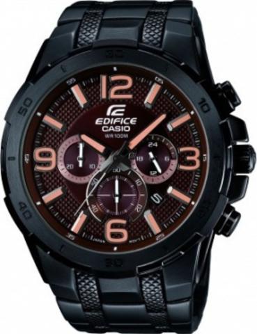 Купить Мужские часы CASIO EDIFICE EFR-538BK-5AVUEF по доступной цене