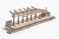 Конструктор 3D-пазл Ugears - Перрон