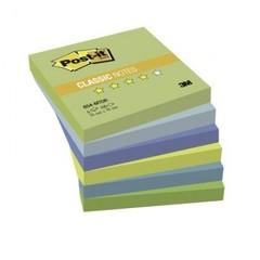 Блок-кубик Post-it 654-МТ 76х76 Хол.неон.радуга,6бл.