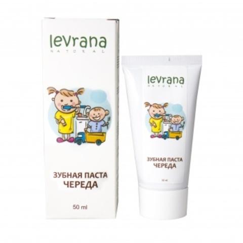 Зубная паста Череда с естественным вкусом, Levrana
