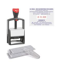 Датер автоматический самонаб.металл. S2860-Bank-Set дата ЦИФР.10-стр. 49х68