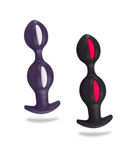 Анальные Шарики B Balls, фиолетовые