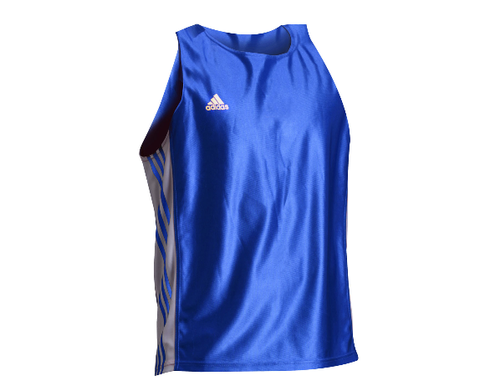 Майка боксерская Adidas Amateur Boxing Tank Top adiTB142 (Синий)
