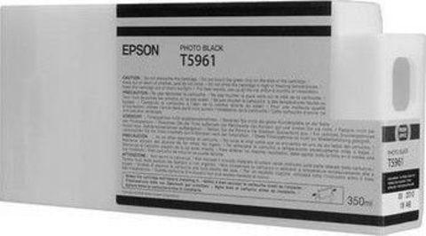 Картридж Epson C13T596100 с фото чернилами (чёрный) 350 мл для Epson Stylus Pro 7700/7890/7900/9700/9890/9900