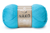 Пряжа Nako Calico бирюза 3792