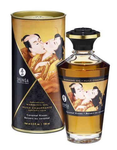 Масло интимное массажное Карамельный поцелуй 100 МЛ фото
