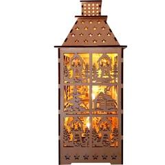 Световая фигура «Деревянная башня», LT091 (Feron)