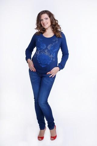 Блузка 01817 синий