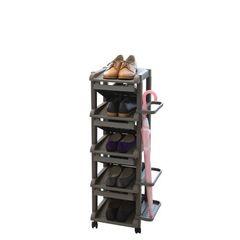Полка для обуви с подставкой для зонтов Z узкая