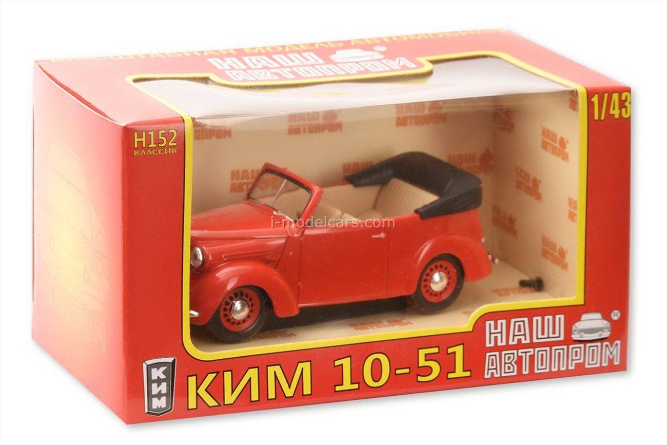 1//43 KIM 10-51 Russian retro car H152
