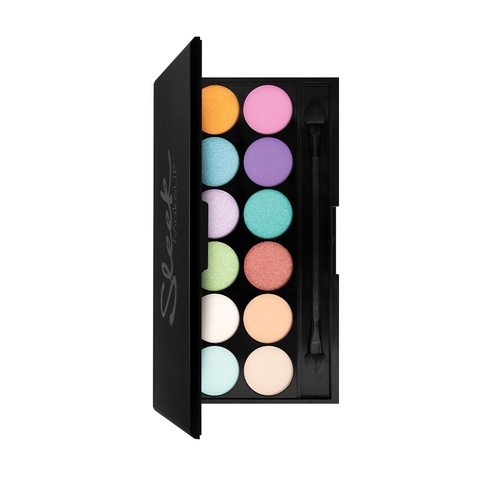 Тени для век в палетке Sleek MakeUP Eyeshadow Palette I-Divine Snapshots, 12 тонов тон 732