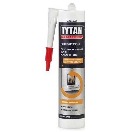 Герметик силикатный, термостойкий для каминов Tytan Professional / Титан