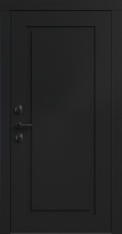 Входная дверь «NEO Classic 1» в цвете, Эмаль черная