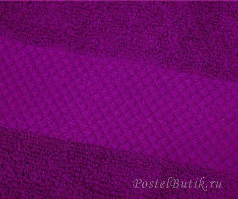 Полотенце 90х180 Mirabello Microcotton фиолетовое